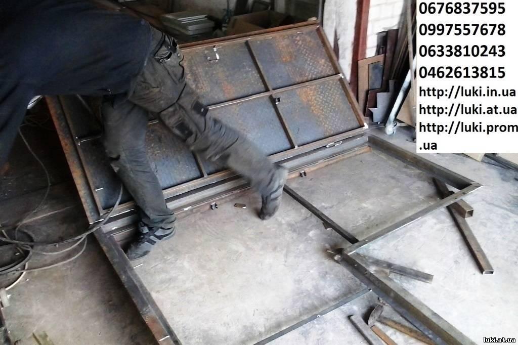 Изготовление люка в погреб подвал